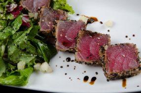 Thunfisch mit Pistazienkruste