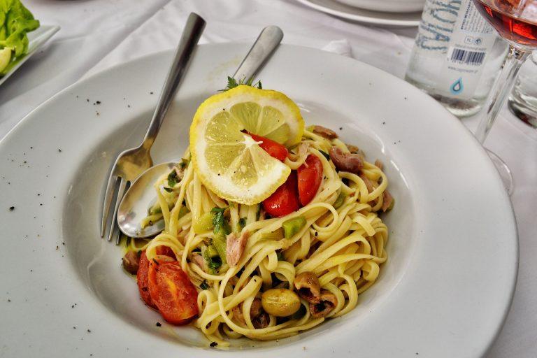 Thunfisch Zitronen Pasta