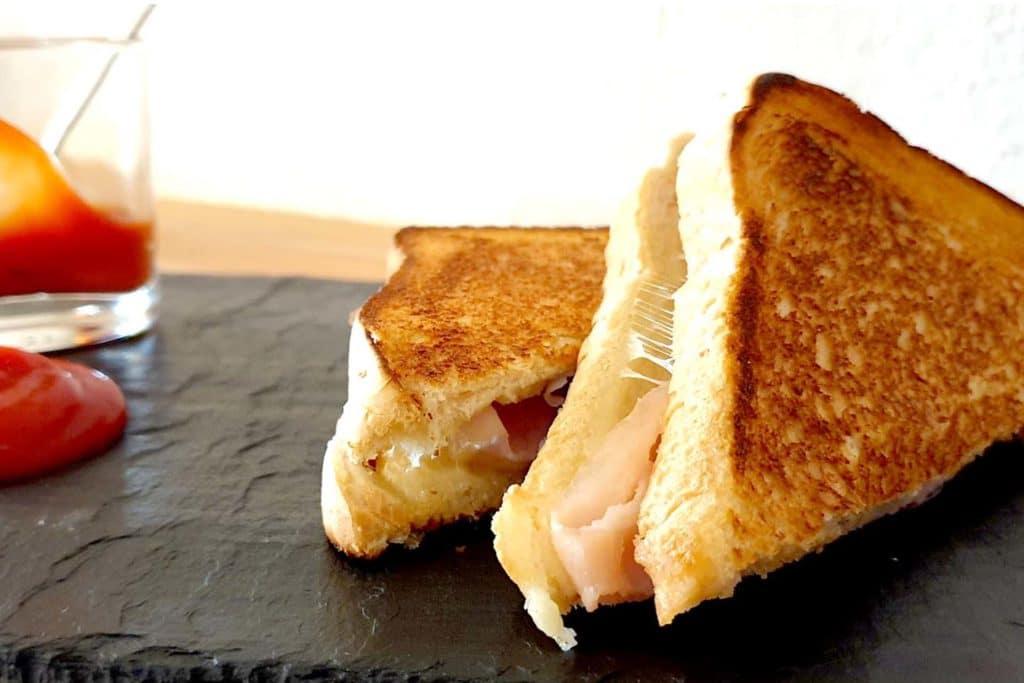 Schinken Käse Toast