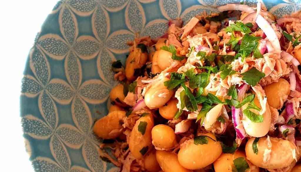 Thunfisch Bohnen Salat