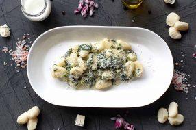Gnocchi mit Spinat