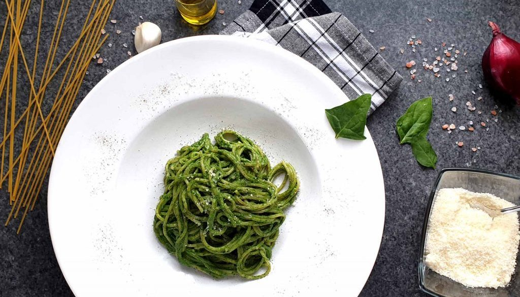 spinat ricotta pasta