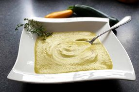 zucchini cremesuppe