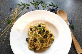 Thunfisch Pesto mit Spaghetti