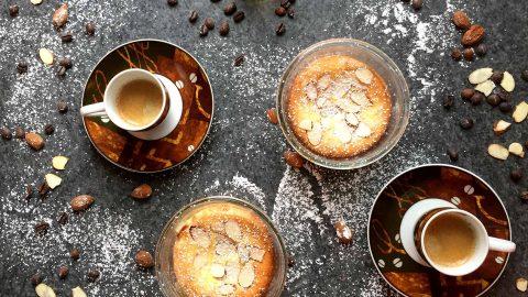 Ricotta Kuchen im Glas