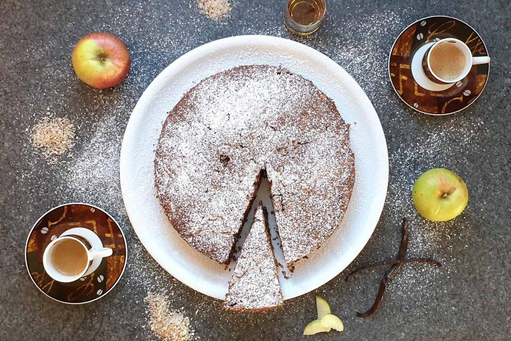 Apfel Nuss Kuchen