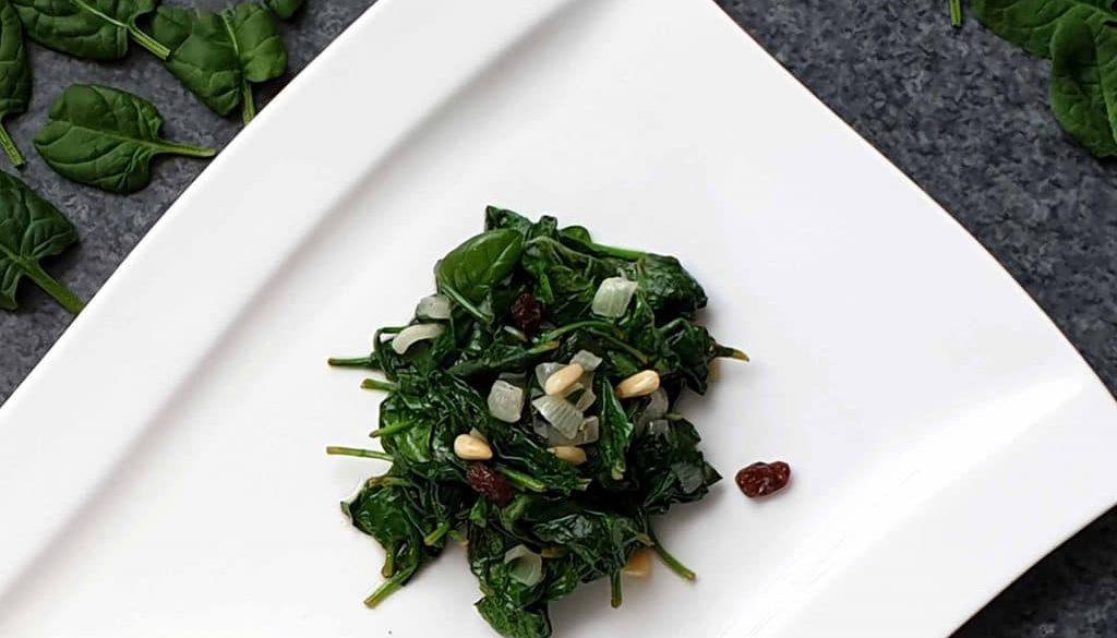 spinaci alla romana