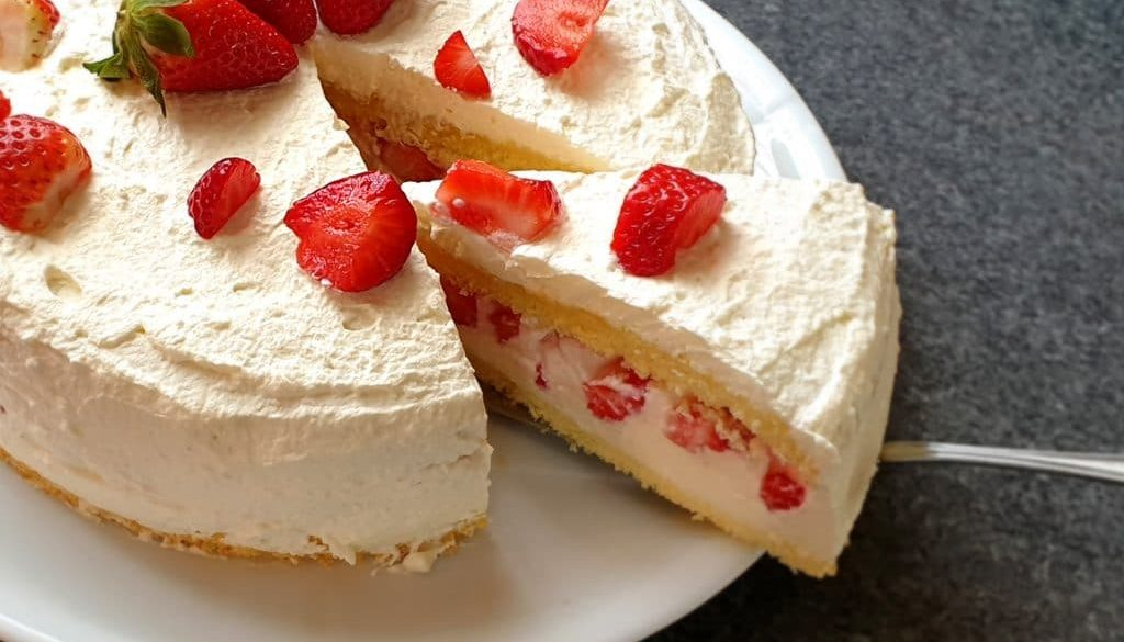 Erdbeer Torte mit Ricottacreme