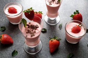 Erdbeer Mousse