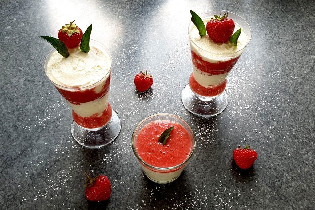 Erdbeer Mascarpone Creme